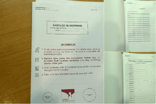 PKW proponuje nowy wzór karty do głosowania.