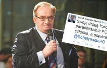 Saryusz-Wolski kpi z kierownictwa PO.