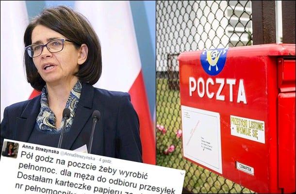 Minister opisuje pewną sytuacją na Poczcie Polskiej. Będą zmiany?