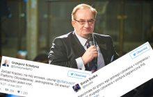 Politycy PO komentują kandydaturę Saryusz-Wolskiego.