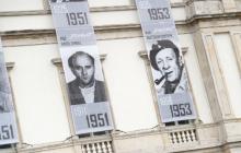 Na budynku Dowództwa Garnizonu Warszawa odsłonięto wystawę poświęconą Żołnierzom Wyklętym [FOTO+WIDEO]