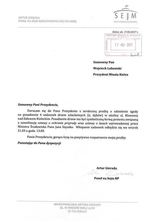 z21522893qpismo-artura-gierady-do-wojciecha-lubawskiego