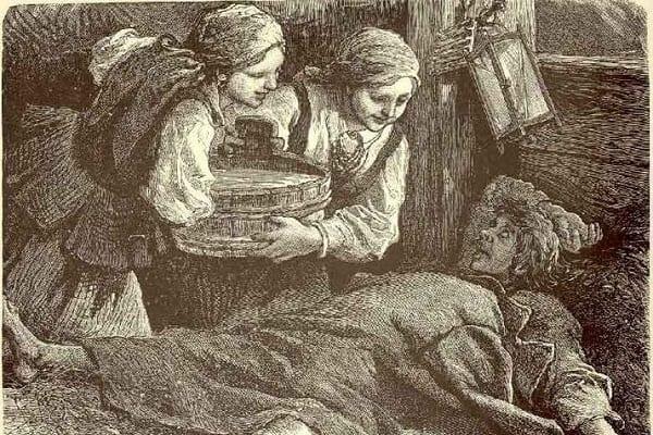 Kiedy mała flaszeczka, a kiedy całe wiadro? Co mają wspólnego Żydzi z Jerozolimy z polskimi zabawami?  XVIII-wieczny ksiądz