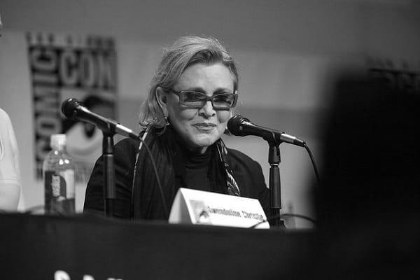Zmarła aktorka Carrie Fisher pojawi się w dwóch kolejnych