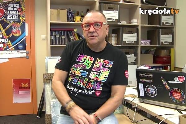 Jurek Owsiak zapowiada pomoc dla Tomasza Golloba.
