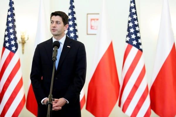 Przewodniczący Izby Reprezentantów: stoimy ramię w ramię z polskimi sojusznikami