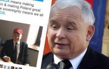 Kaczyński jak Donald Trump. Fotografia prezesa PiS robi w sieci prawdziwą furorę