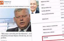 Portal natemat.pl zaśmiewa się z wpisu na internetowej wizytówce posła PiS. Sęk w tym, że identyczny ma Grzegorz Schetyna...