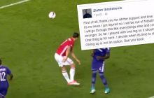 Poważna kontuzja Zlatana Ibrahimovicia zakończy jego karierę? Piłkarz zamieścił wpis na Facebooku. Zebrał kilkaset tysięcy