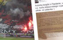 Dziennikarz publikuje zdjęcie z fragmentem książki o Michale Pazdanie. Autorka tłumaczy w nim, kim są ultrasi i... wywołuje śmiech.