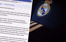 Trolling czy załamanie nerwowe? Wpis polskiego kibica Realu hitem piłkarskiego internetu.