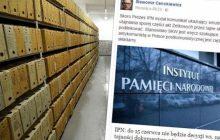 Zbiór zastrzeżony IPN jednak nie zostanie ujawniony?! Wymowny wpis Cenckiewicza.