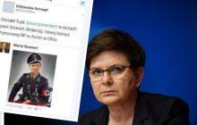 Obraźliwe zdjęcie opublikowane przez polską konsul wywołało skandal. Jest stanowisko premier Beaty Szydło