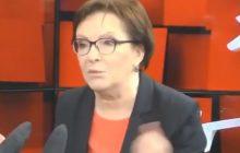 Dziennikarz Radia ZET wyśmiał Ewę Kopacz. Była premier przekonywała, że przed świętami... zdrożeje masło i mleko [WIDEO]