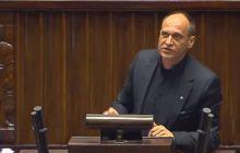 Debata nad wnioskiem o wotum nieufności dla rządu PiS. Paweł Kukiz nie mówił do posłów, lecz do... młodzieży obecnej w Sejmie [WIDEO]