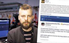 Pyta.pl znów kpi z Antify. Tym razem chodzi o wpis na Facebooku.