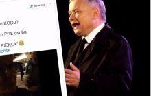 Kuriozalna wypowiedź przeciwniczki Kaczyńskiego podczas rocznicy katastrofy smoleńskiej.