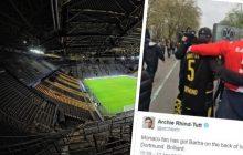 To zdjęcie masowo udostępniają kibice w całej Europie. Fani BVB i Monaco wspierają rannego w zamachu piłkarza