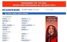 Kurnik.pl przeciwko propagandzie w TVP. Wymowny baner na popularnej stronie z grami on-line!