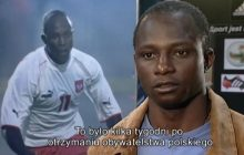 Perełka! Archiwalny reportaż o Emmanuelu Olisadebe. Już po pierwszych minutach filmu... lewica dostałaby zawału [WIDEO]