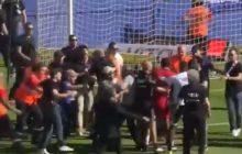 Z cyklu: na Zachodzie sobie poradzili. Kibice zaatakowali piłkarzy przed meczem francuskiej ekstraklasy! Na boisku był Maciej Rybus [WIDEO]