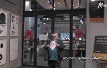 Polski artysta niszczy