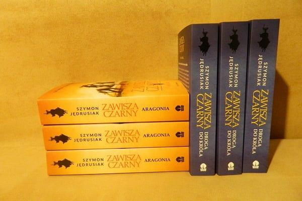 Konkurs z wydawnictwem Bukowy Las. Wygraj dwa tomy książki o Zawiszy Czarnym!