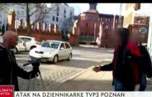 Atak na dziennikarzy TVP! Napastnicy mieli nóż, gaz i grozili śmiercią [WIDEO]