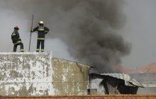 Katastrofa samolotu w Portugalii! Maszyna rozbiła się niedaleko supermarketu [WIDEO]