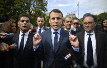 Oficjalne wyniki wyborów we Francji: Macron - 24,01 proc., Le Pen 21,30 proc.