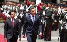 Tak wyglądała ceremonia powitania Andrzeja Dudy w Meksyku. Prezydent przyjęty z największymi honorami! [WIDEO]