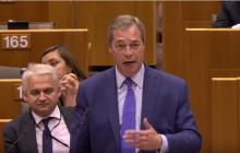 Mocna przemowa Nigela Farage. Apeluje do Viktora Orbana o wyjście z UE [WIDEO]