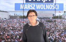 Kuriozalny cel manifestacji PO! Ewa Kopacz chce bronić... długich weekendów [WIDEO]