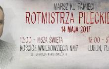 Marsz Rotmistrza Pileckiego przejdzie ulicami Lublina