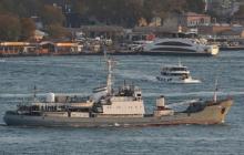 Rosyjski okręt wojenny zatonął na Morzu Czarnym. Zderzył się ze statkiem handlowym
