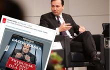 Sikorski komentuje nową okładkę Gazety Polskiej.