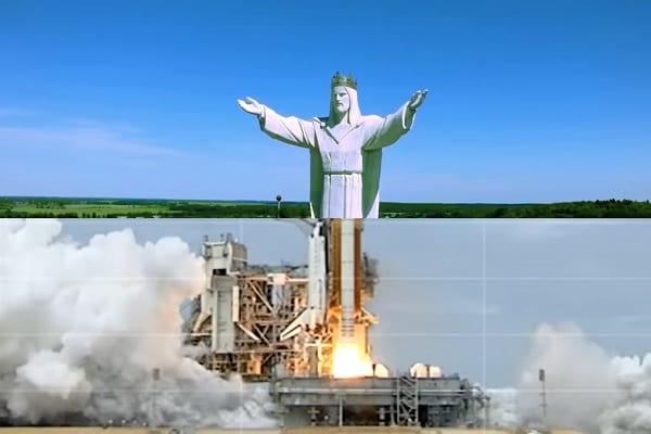 Znany amerykański muzyk umieszcza figurę Jezusa ze Świebodzina w kontrowersyjnym teledysku! [WIDEO]