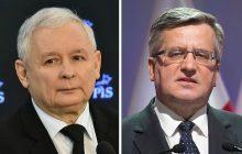 Kaczyński dosadnie podsumował Komorowskiego.
