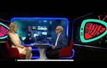 Kuriozum! Prowadzący program w TVP Info zbagatelizował banderowskie pozdrowienie na Eurowizji. Stanowcza reakcja Magdaleny Ogórek [WIDEO]