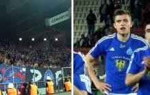 Kibice Ruchu Chorzów ostro potraktowali swoich piłkarzy po przegranym meczu.