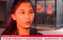 TVP Info wyemitowała relację świadka zamachu w Manchesterze.