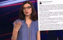 Abstrakcyjna sytuacja na antenie Superstacji. Dziennikarka w kuriozalny sposób przekręcała nazwisko publicysty.