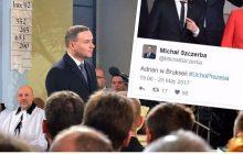 Afera kciukowa! Zdjęcie Andrzeja Dudy ze szczytu NATO wzbudziło ogromne kontrowersje.