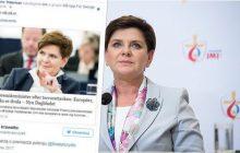 Szwedzi zazdroszczą nam Beaty Szydło? Polacy udostępniają wpis internautki, która chwali premier za mocne przemówienie