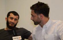 Mamed Khalidov odniósł się do gwizdów pod swoim adresem.