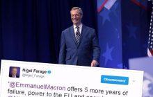 Nigel Farage skomentował zwycięstwo Macrona. W jego prezydenturze widzi szansę dla... Le Pen