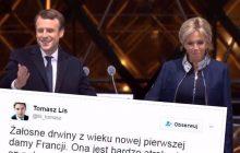 Tomasz Lis stanął w obronie żony Emmanuela Macrona.