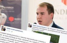 Andruszkiewicz odpowiada na oskarżenia i... publikuje zdjęcie samochodu.