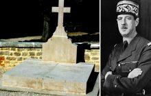 Francuzi w szoku. Ktoś zdewastował grób Charlesa de Gaullea