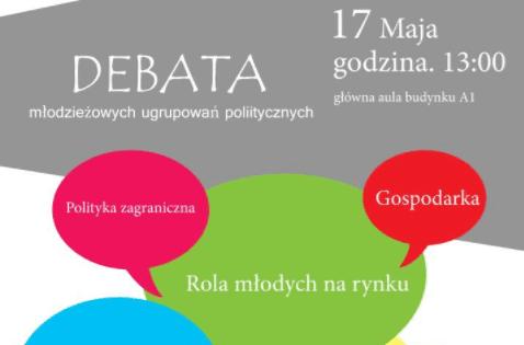 Uniwersytet Rzeszowski: Debata Młodzieżowych Ugrupowań Politycznych [PATRONAT]